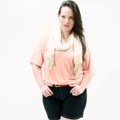 Camiseta Básica Daily Plus Size
