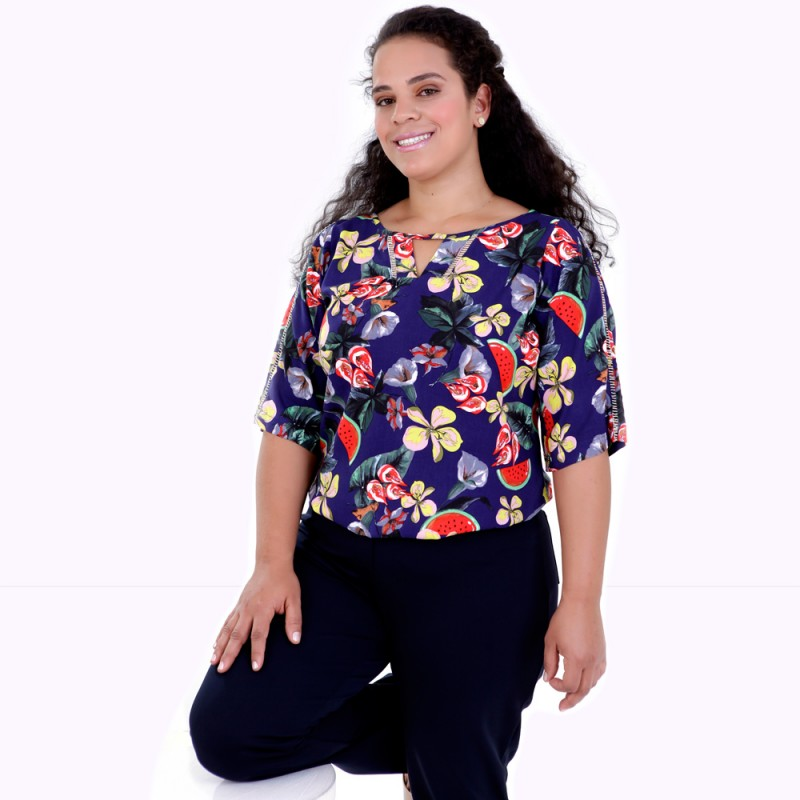 Túnica Magaly Plus Size