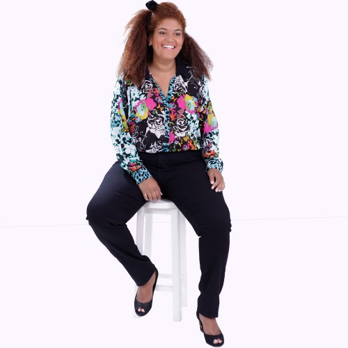Camisa Liliana Plus Size