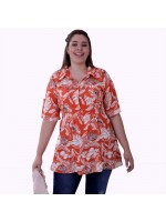 Blusa Jungle Viscose Plus Size