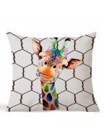 Almofada Girafa Divertida