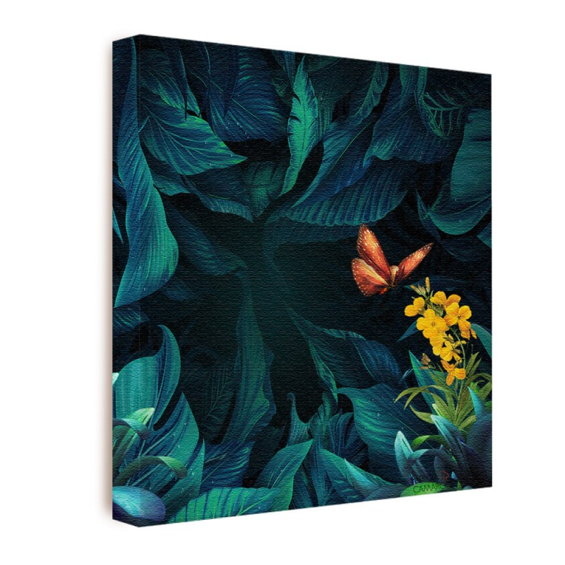 Quadro Decorativo Floresta Encantada