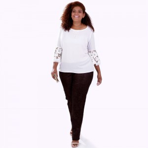 Bata Carolina Desfiada Plus Size