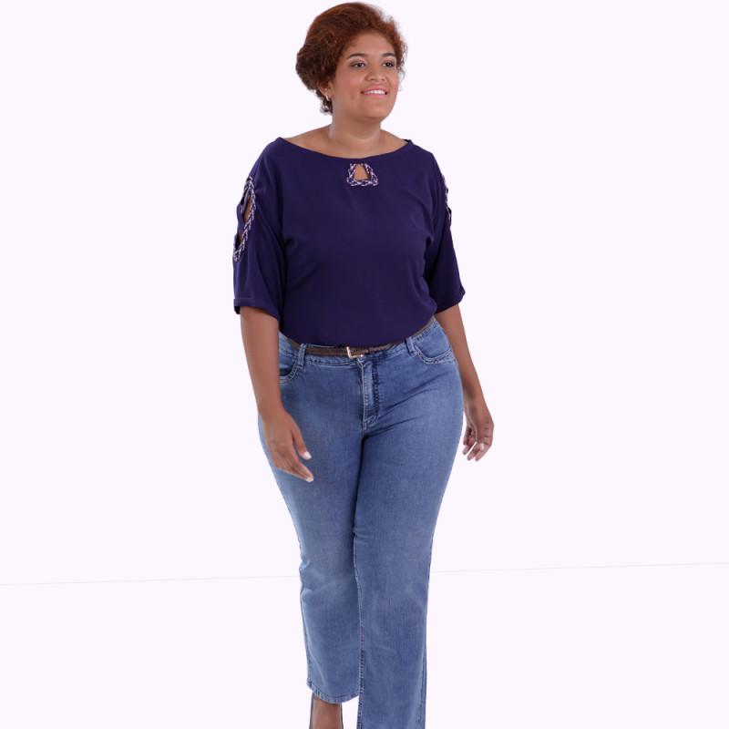 Blusa Amanda Inca Plus Size