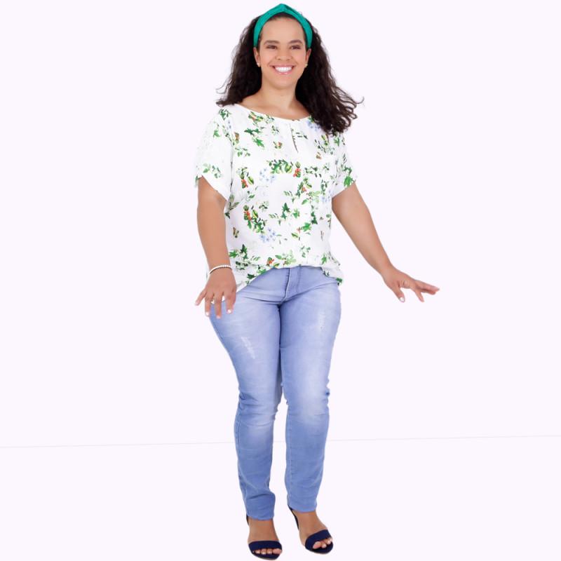 Blusa Ana Júlia Plus Size