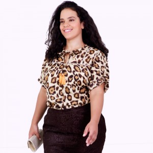 Blusa Bicho Karolyn Plus size
