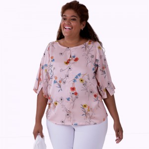 Blusa Cheque Mate Plus Size