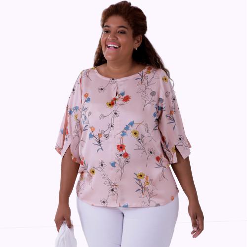 Blusa Cheque Mate Plus Size