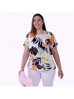 Blusa Cherry Viscose Plus Size