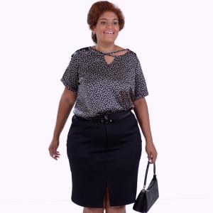 Blusa Eveline Xis Plus Size