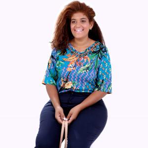 Blusa Kika  Designer Plus Size