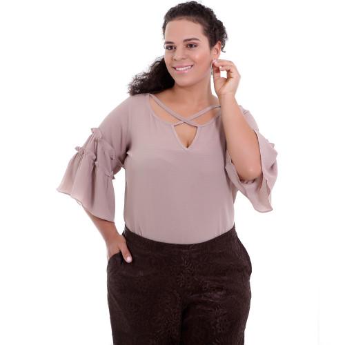 Blusa Nude Gianna Plus Size