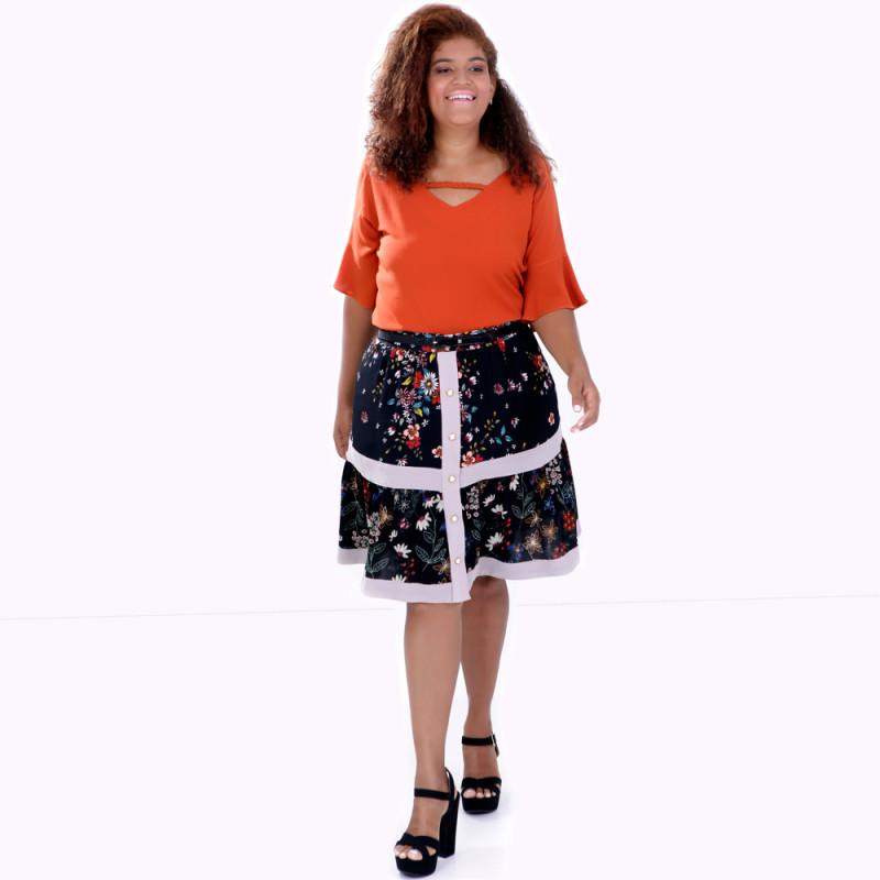 Blusa Trança Cloé Plus Size