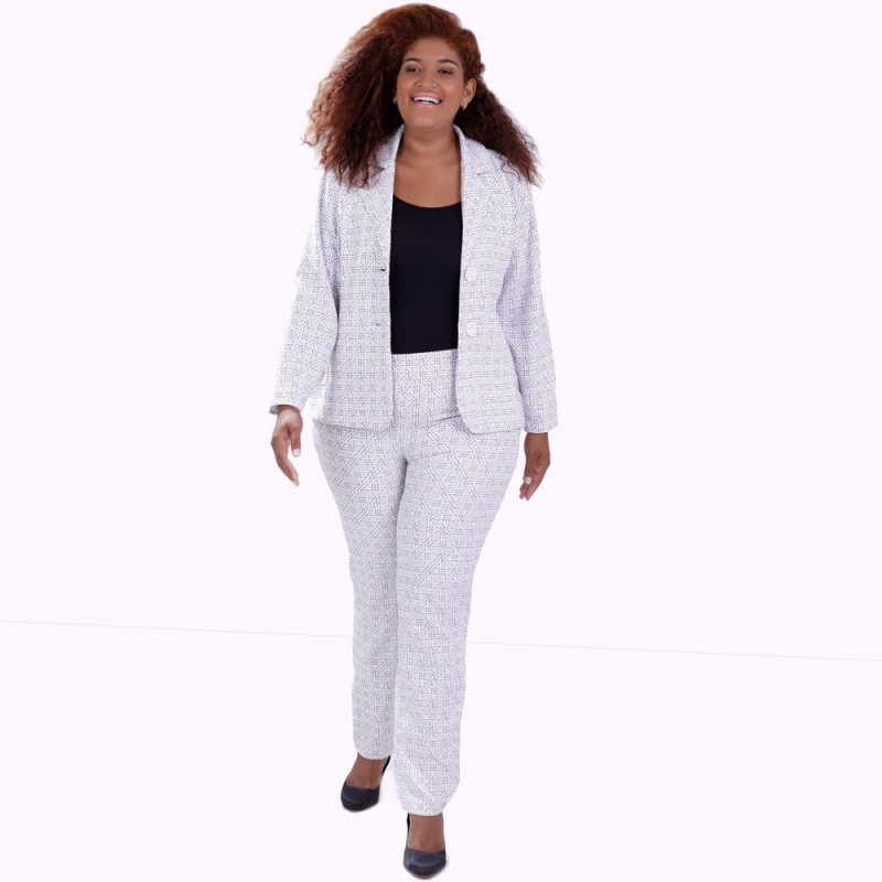 Blazer Gabriela Plus Size