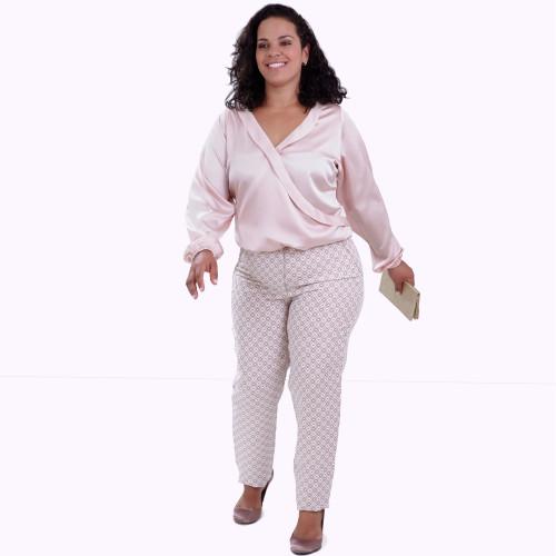 Cachecoer Cora Rosa Plus Size
