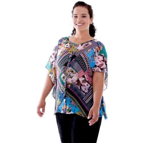 Camisa Alessa Plus Size