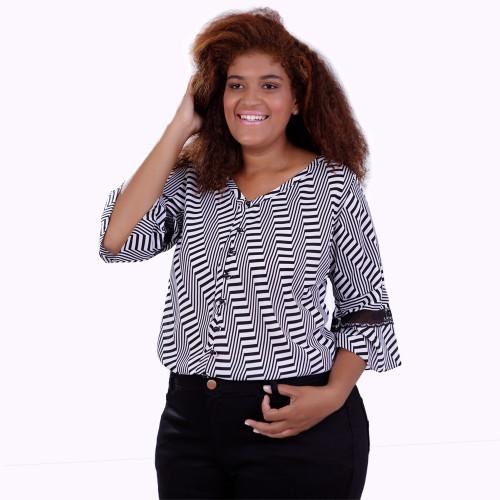 Camisa Clari Plus Size