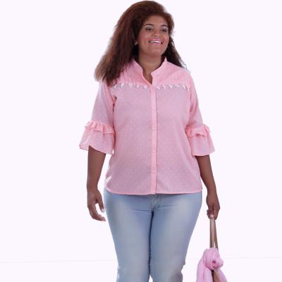 Camisa Fernanda Plus Size