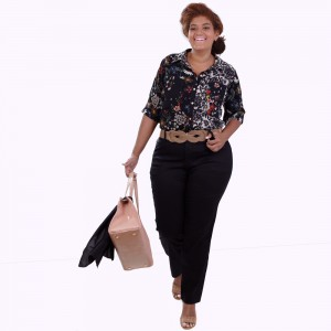 Camisa Mix Estampas Charlote Plus Size