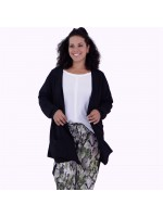 Cardigan Júlia Black Plus Size