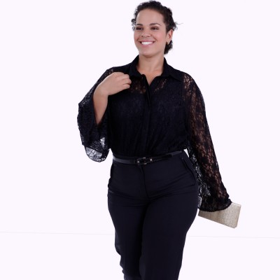 Twin Set Filipa Renda Plus Size