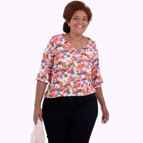 Blusa Carolina Tuly Plus Size