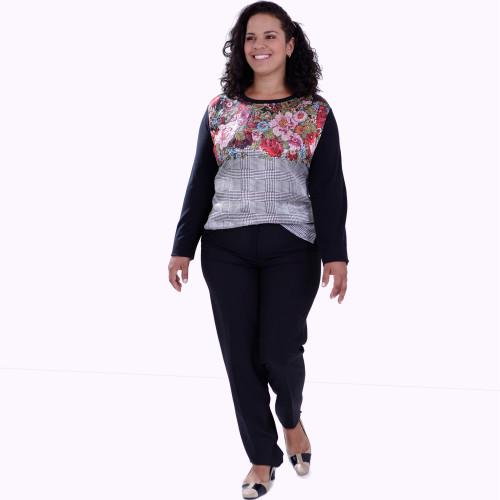 Blusa Estefânia Plus Size