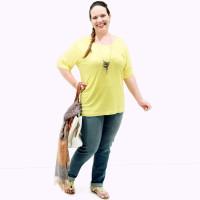 Camiseta Astral Malha Plus Size