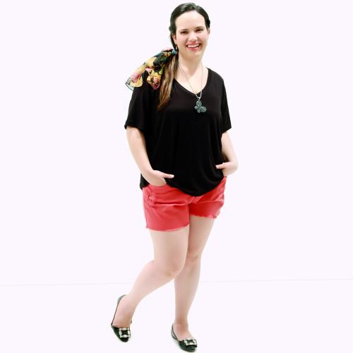 Camiseta Black Básica Plus Size