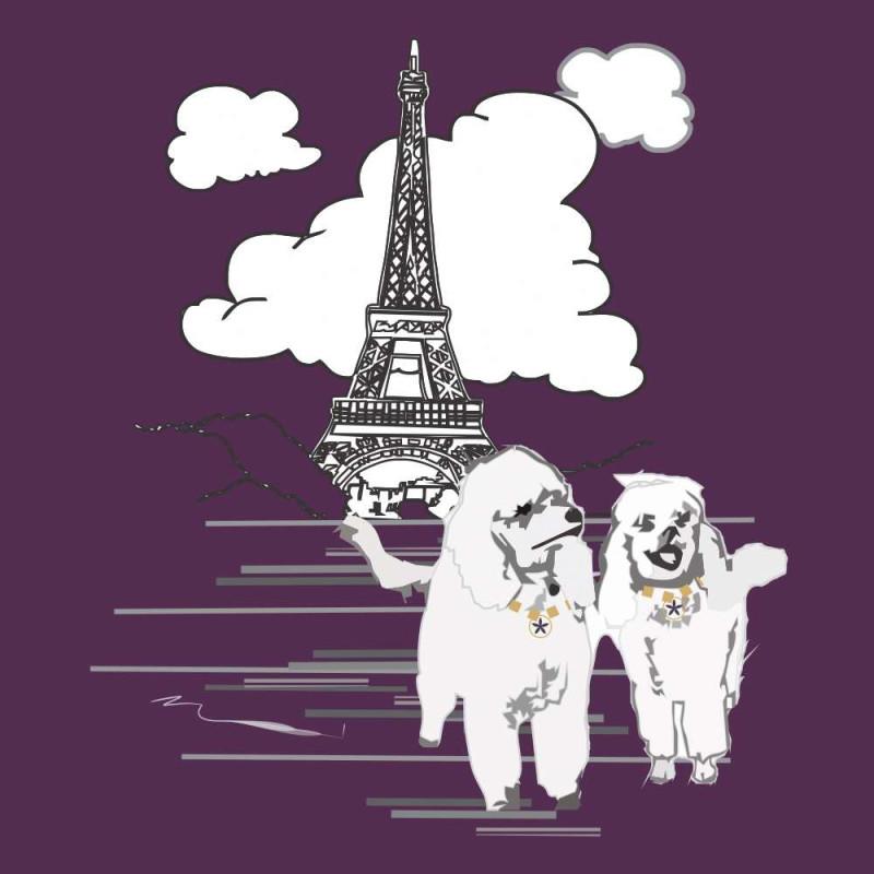 Camiseta Cachorrinhos Paris Plus Size