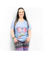 Camiseta Cat Dali Plus Size