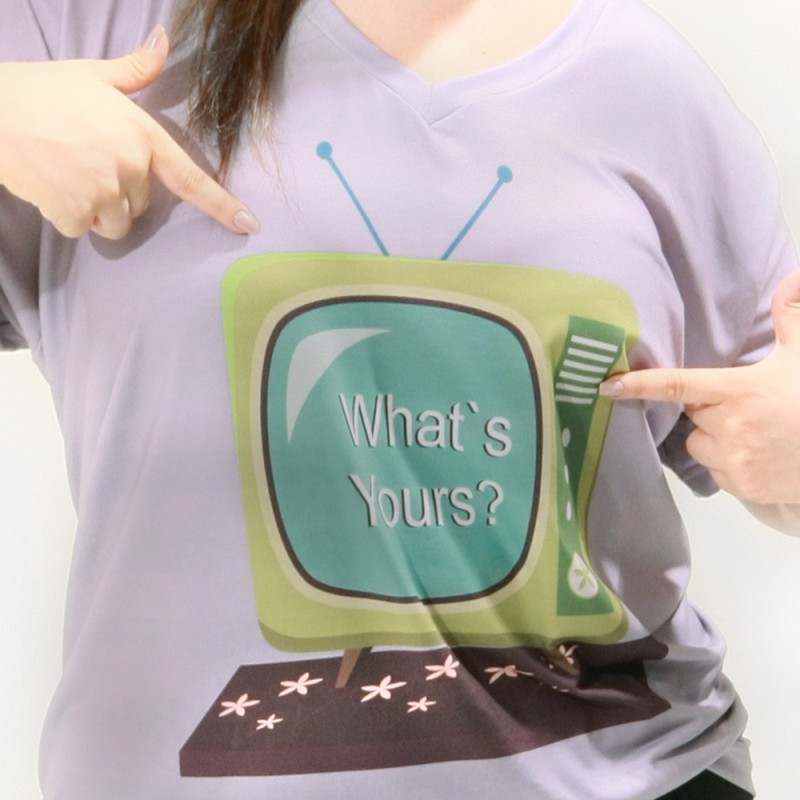 Camiseta TV Vintage Plus Size