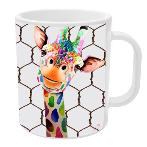 Caneca Girafa Divertida