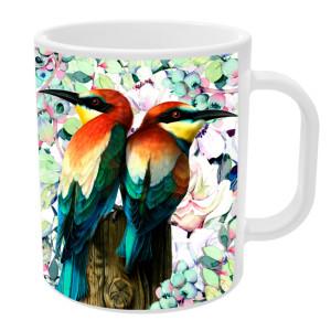 Caneca Pássaros
