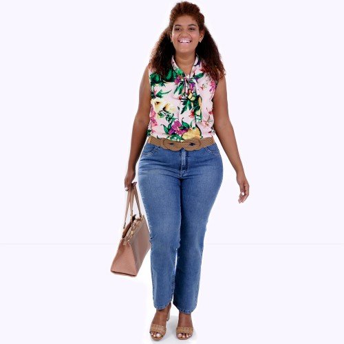 Regata Catarina Laçarote Plus Size