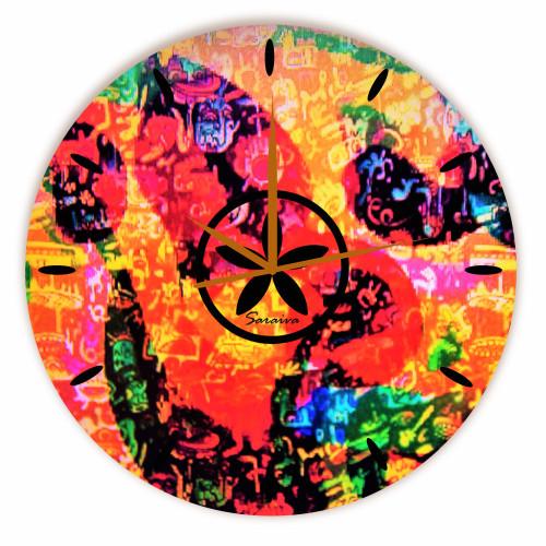 Relógio África Redondo