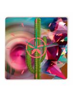 Relógio Cactus Griselda Quadrado