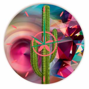 Relógio Cactus Griselda Redondo