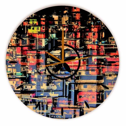 Relógio Colmeia Redondo