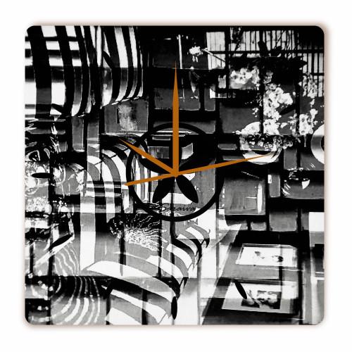 Relógio Dimensional Quadrado