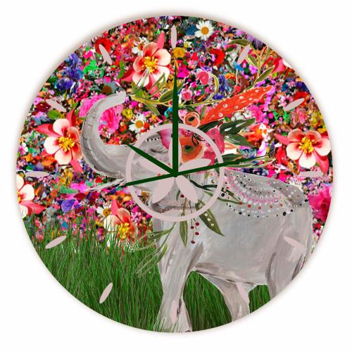 Relógio Elefante Redondo