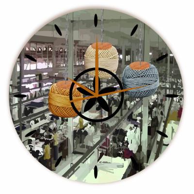 Relógio Fábrica Redondo