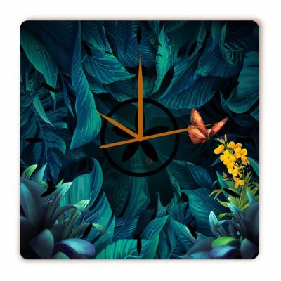 Relógio Floresta Encantada Quadrado