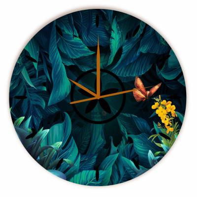 Relógio Floresta Encantada Redondo