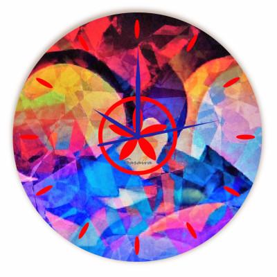 Relógio Gemas Redondo
