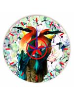 Relógio Pássaros Redondo