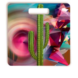 Tábua De Corte Cactus Griselda Quadrada