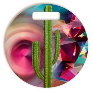 Tábua De Corte Cactus Griselda Redonda