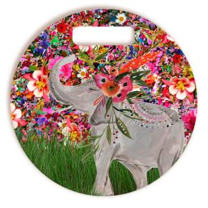 Tábua De Corte Elefante Redonda
