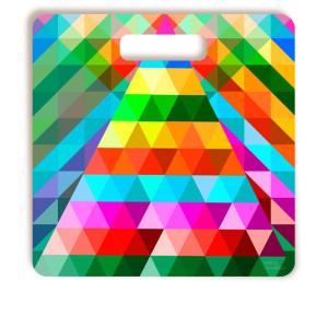 Tábua De Corte Mil Pirâmides Quadrada